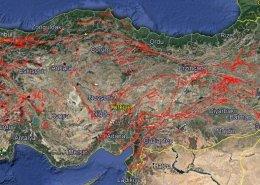 Türkiye Diri Fay Haritası